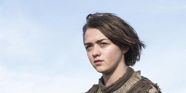 """Game of Thrones"": Maisie Williams dit ""au revoir"" à Arya Stark"