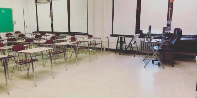 J'ai fait appel à des inconnus pour financer les fournitures de ma salle de classe, et ce n'est pas normal