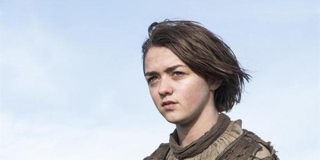 Les adieux sanglants de Maisie Williams — Game of Thrones