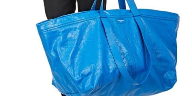 Le fameux tote bag qui fait tache pour la maison de mode.