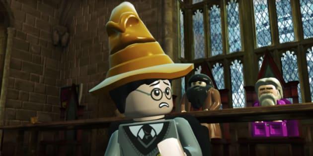 """Clip de présentation du jeu LEGO Harry Potter Collection sur PS4. Eh non, ce n'est malheureusement pas une image tirée de """"La Grande Aventure Lego 2."""""""