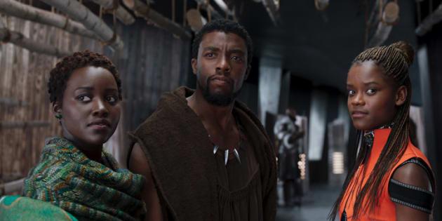"Une image du film ""Black Panther"""