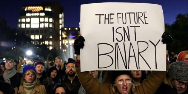 Bajo la etiqueta #WeWontBeErased, miles de estadounidenses se están preparando para pelear contra la transfobia de la actual administración