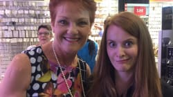 People Took Some Really Awkward Pictures With Pauline Hanson In