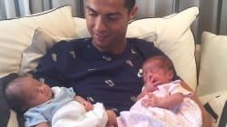 Il pensiero dedicato da Ronaldo ai suoi due figli è un messaggio di amore che fa il giro del