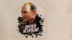 La popularidad de Putin lo convierte en ícono