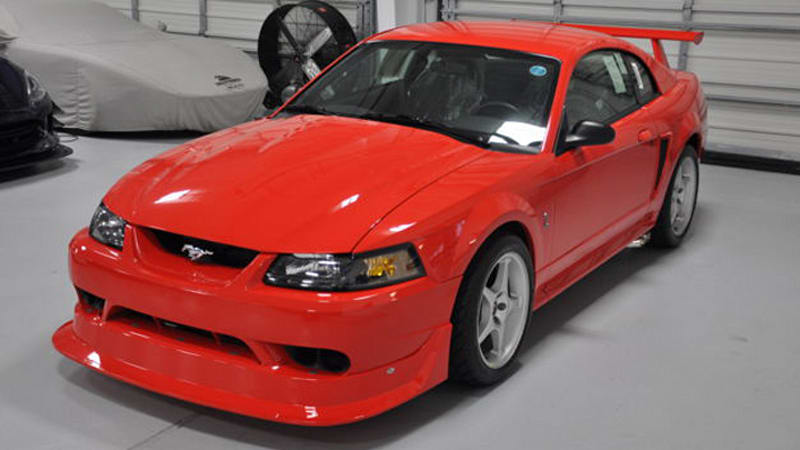 this time warp 85 mile 2000 ford mustang cobra r is for sale autoblog. Black Bedroom Furniture Sets. Home Design Ideas