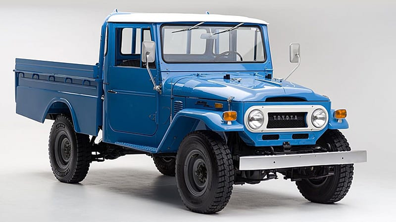 Beautifully restored Toyota Land Cruiser pickup needs good home ...