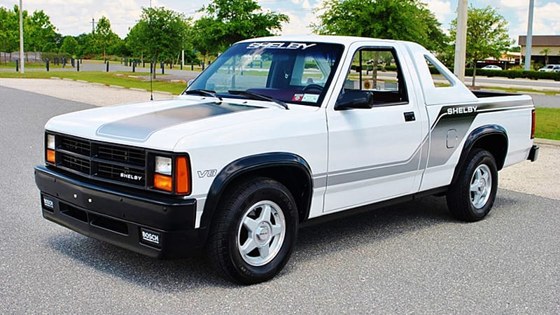 Rare Dodge Shelby Dakota Is A Very 80s Sport Truck Autoblog