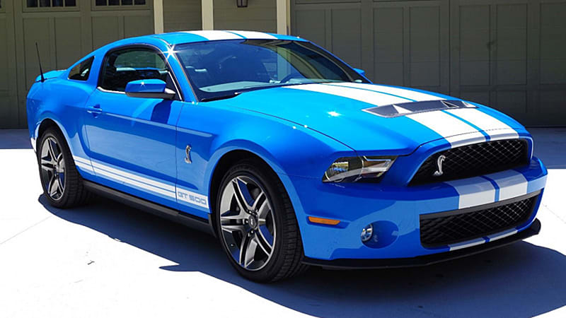For This 2010 Mustang Shelby Gt500 Has Driven Just 21 Miles