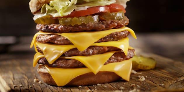 Il s'est vendu plus de burgers que de jambons-beurres en France en 2017