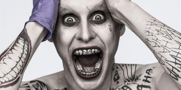 """Jared Leto dans le rôle du Joker (""""Suicide Squad"""")."""