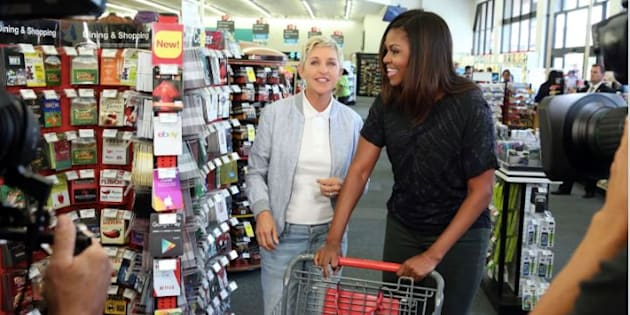 Ellen and Michelle take CVS.