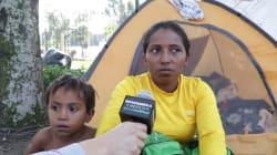 VIDEO: Las voces de la caravana migrante en su paso por Ciudad de