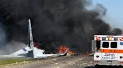 5 Dead After C-130 Military Cargo Plane Crashes In