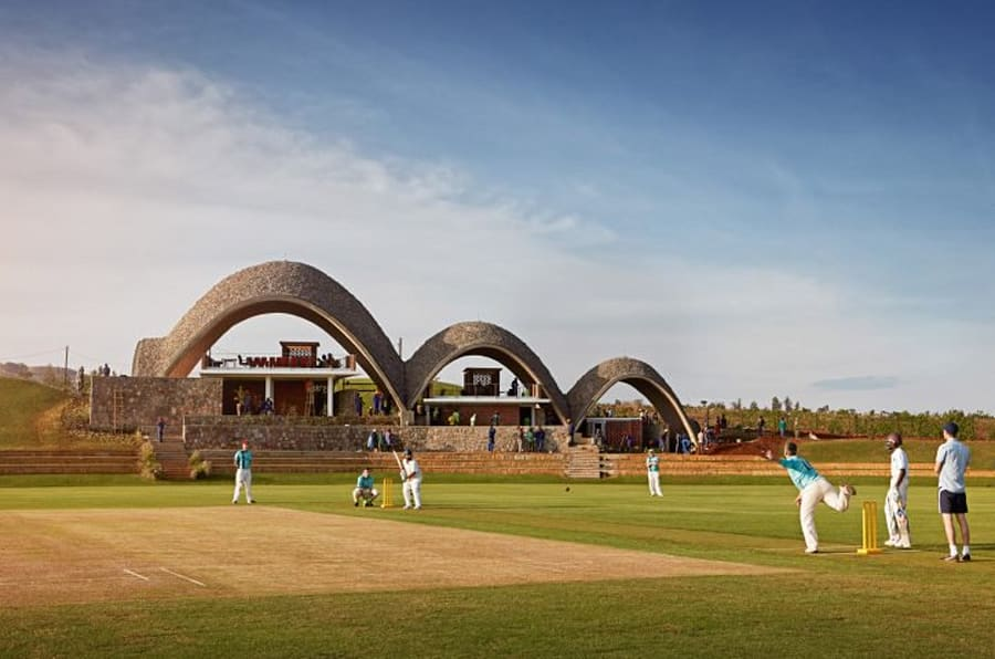 Rwanda's brand-new cricket stadium is inspired by the role sport can play in reconciliation. It was conceived as a promotor of peace and social interaction between erstwhile enemies, in the aftermath of the genocide two decades ago.
