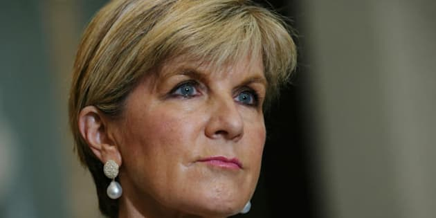 """Foreign Affairs Minister Julie Bishop:  """"The government supports improved coordination between humanitarian agencies."""""""
