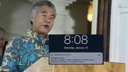 Le gouverneur d'Hawaï n'a pas démenti la fausse alerte au missile car il avait perdu son code