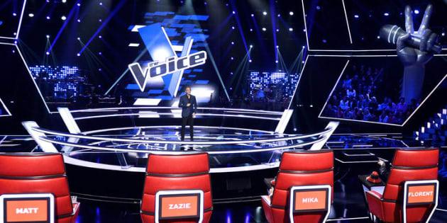 THE VOICE SAISON 6: BATTLE A L'IMAGE: Nikos Aliagas OK NIKOS-OKN