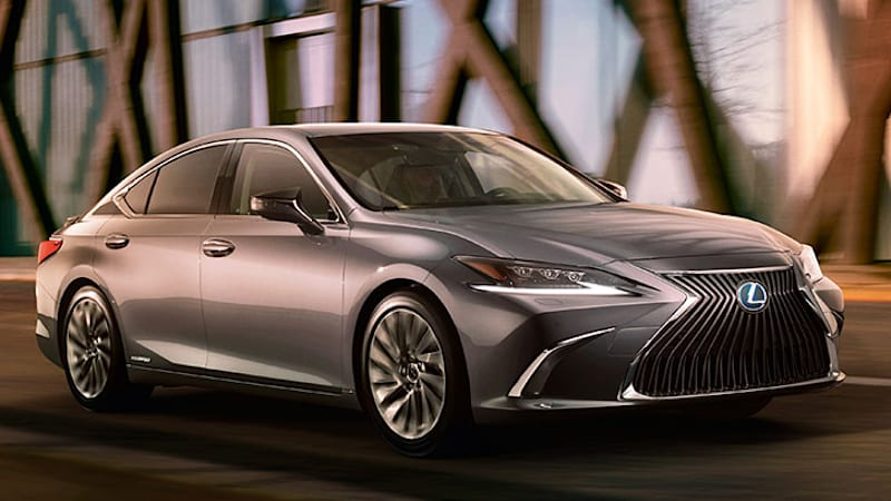 After Revealing The Grille Of 2019 Lexus Es Last Week Posted A Single Photo Whole Shebang This Morning Only Two Sentences Accompanied