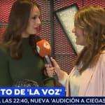 El 'corte' de Eva González a una reportera de 'Espejo