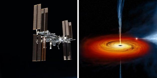 Des chercheurs ont observé les abords d'un trou noir grâce à un instrument de l'ISS capable de capter les rayons X.