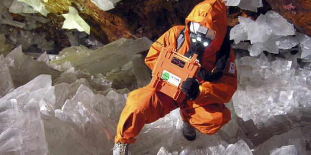Les grottes mexicaines de Naica sont connues pour leurs nombreux cristaux.