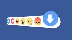 Facebook teste ce qui se rapproche le plus d'un bouton