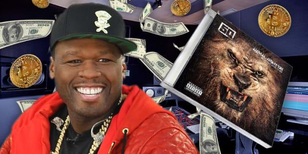 50 Cent est millionnaire en Bitcoin et vient seulement de l'apprendre