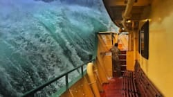 Sydney Man Snaps Captivating Images Of Giant Waves Lashing The Manly