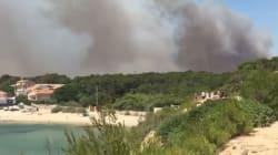 Laurent Ournac partage des images impressionnantes de l'incendie près du tournage de