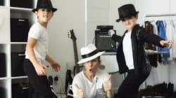 Les jumeaux de Céline Dion ressemblent de plus en plus à... Michael