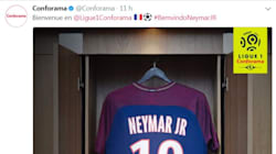 Neymar au PSG, un très bon coup pour Conforama, nouveau sponsor de la Ligue
