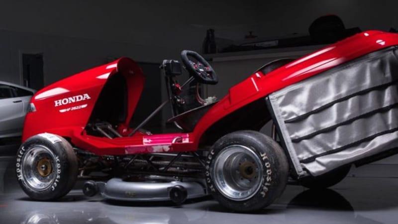 honda has built a 189 horsepower lawnmower autoblog. Black Bedroom Furniture Sets. Home Design Ideas