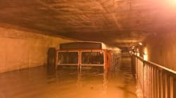 Scary Photo Of Submerged Bus In Underpass Sums Up The Havoc Caused By Rains In