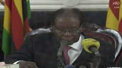 À la télévision, Robert Mugabe ne fait aucune référence à une éventuelle