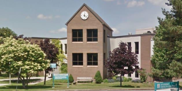 The University of New Brunswick Saint John campus.