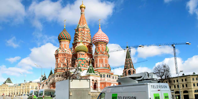 Russie: comment Russia Today couvre la crise diplomatique en France et en Grande-Bretagne