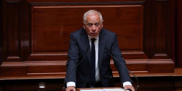 Audition d'Alexandre Benalla au Sénat: les sénateurs LREM n'y participeront pas (Photo d'illustration: le sénateur LREM François Patriat, le 9 juillet 2018 à Versailles)