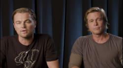 El vídeo con el que Leonardo DiCaprio y Brad Pitt piden el voto a los