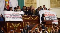 Morena revienta sesión en ALDF tras chocar con PRD por deuda de 109 mil mdp que los capitalinos pagarán los próximos 30