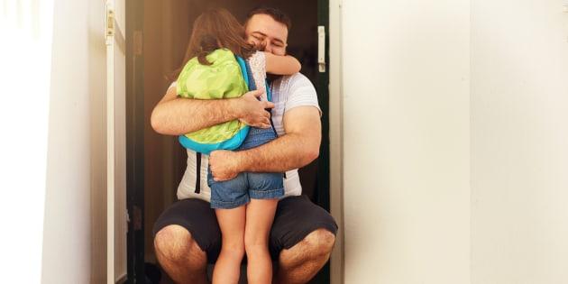 Garde alternée: aujourd'hui, l'enfant a son mot à dire, mais cela pourrait changer.