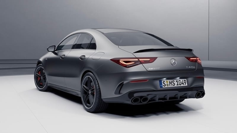 2020 Mercedes Amg Cla45 S Has Been Leaked Autoblog