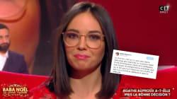 La journaliste Agathe Auproux se moque des journalistes qui ont cru... ce qu'elle