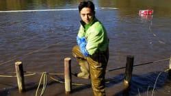 テレ東『池の水ぜんぶ抜く』 平野ノラが正月からヘドロと格闘「オファーがきてマンモスうれP」