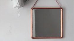Comment faire (facilement) un miroir en tubes de