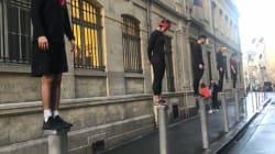 L'épreuve des poteaux de Koh Lanta s'invite dans les rues de