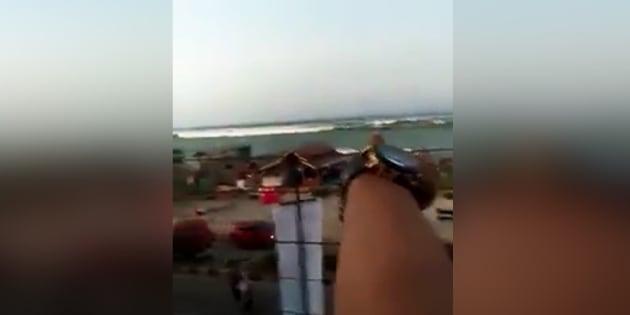 Tsunami en Indonésie: une nouvelle vidéo terrifiante le déferlement sur les côtes des Célèbes