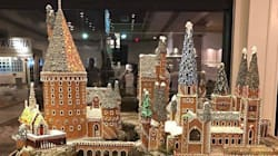 Edmonton Bakery's Gingerbread Hogwarts Is A Must