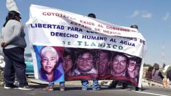 Liberan a tres defensores del agua de Tlanixco tras 11 años de